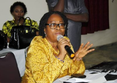 LHCHF Dr. Francisca Odeka on building Capacity of NGO's on Monitoring and Evaluation