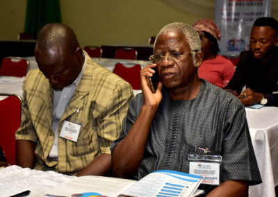 Mr. Steve Oronsaye frm Head of Civil Service of the Federation