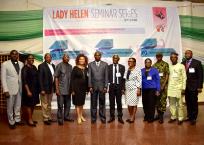 Founder, Co-founder, Special Guest and Speakers at the LHCHF 2019 Lecture