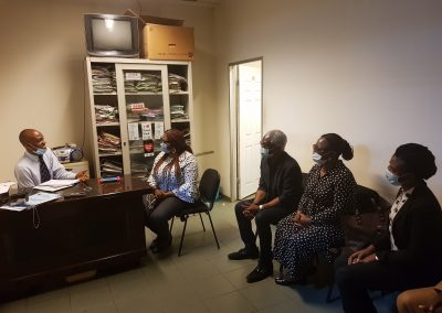 PTAP Media Chat With the Welfare Office of National Hospital