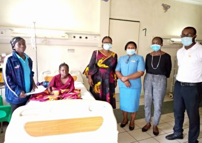 Lady Helen Child Health Foundation PTAP Grant to Kampia David a Paraplegia Patient at National Hospital, Abuja.