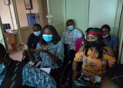 Cross Section of LHCHF Volunteers during Induction Training in Abuja Office – May 2021