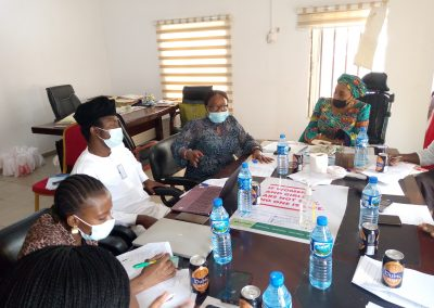 Technical Committee Members Deliberation on Market Place Event - April 2021