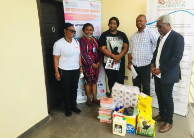 CEO, Operational Director with Representatives from Finger of God Orphanage